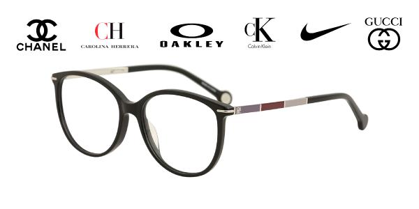 Aros de lentes de marca