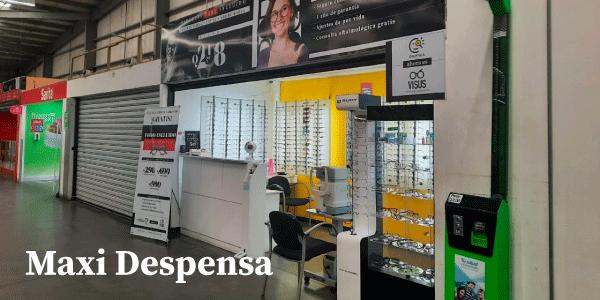 Fachada de Optica Visus Villa Nueva